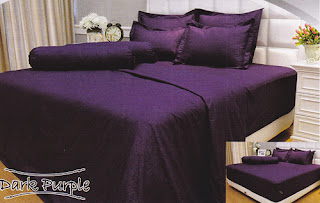 sprei Internal Vallery Dark Purple