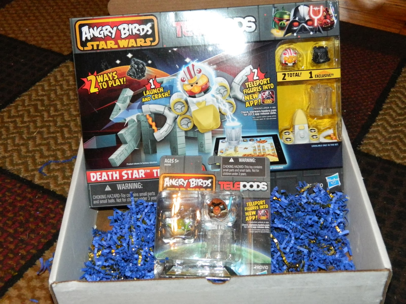 Angry Birds Star Wars II Telepods Review and Giveaway *ended*  Angry Birds Sta...