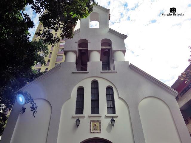 Vista da fachada da Igreja Ortodoxa de São Nicolau - Liberdade - São Paulo