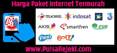 PulsaRejeki.Com Agen Kuota Paket Data Internet Termurah