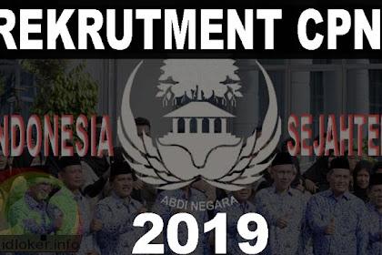 Rekrutmen CPNS 2019: 100 Ribu Formasi dibuka Bulan Oktober