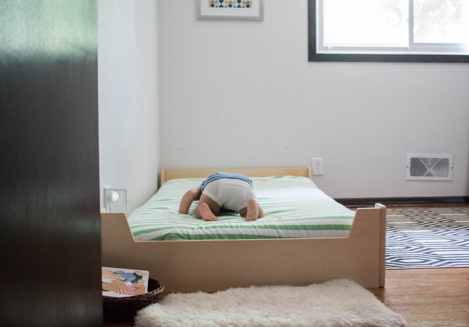 What Should My Child S Montessori Floor Bed Look Like