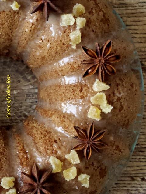 Bundt Cake de almendra, coco y jengibre. Sin gluten, sin lácteos.