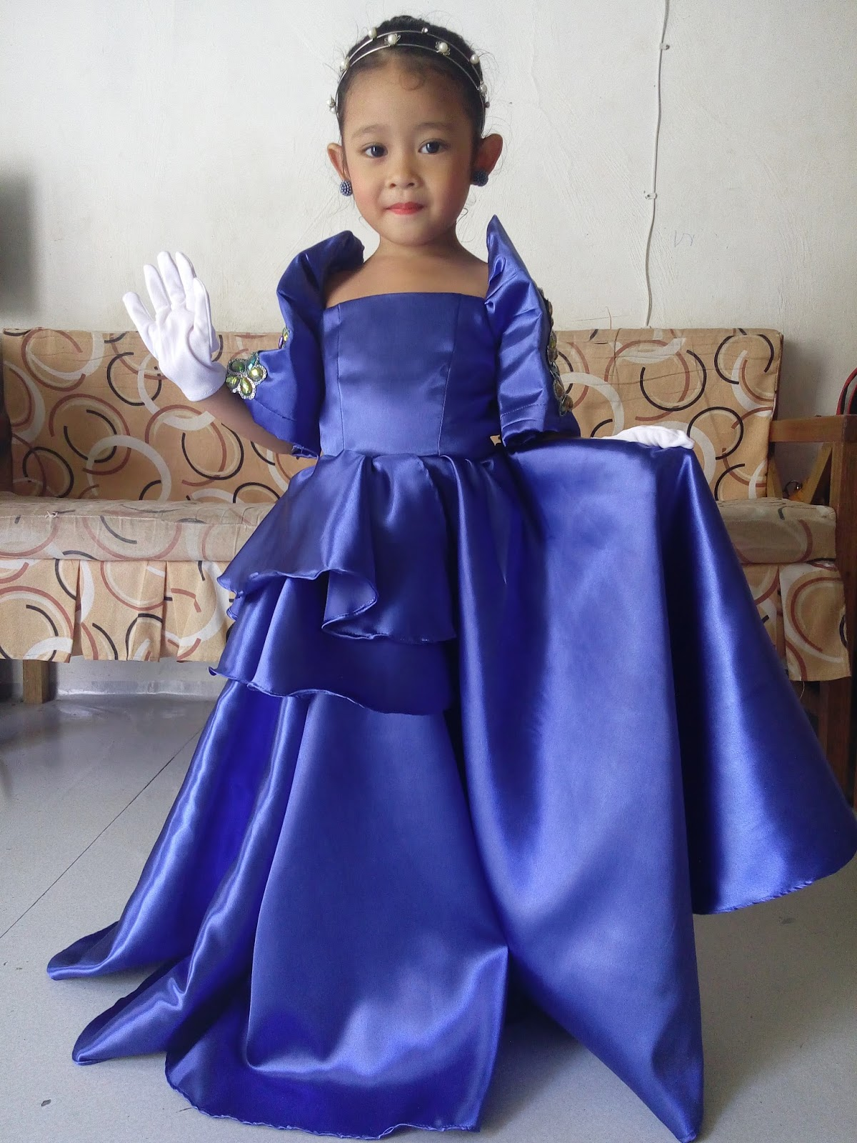 09276a1334df So As A Normal Mom Who Wants Best For Kids I Ordered My Dressmaker To Make  This Gown For Her. Best In Filipiniana Costume ... Sc 1 St Momu0027s Reverie
