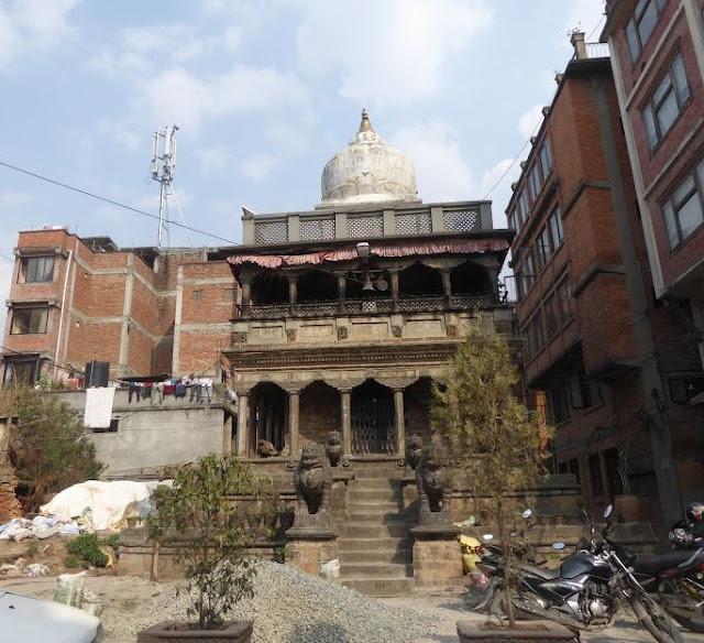 Tempio buddista a Patan