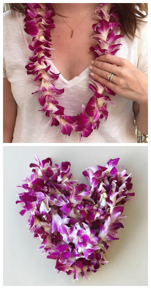 Maui lei necklaces