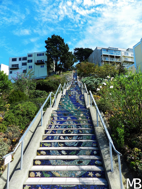 mosaic steps san francisco california