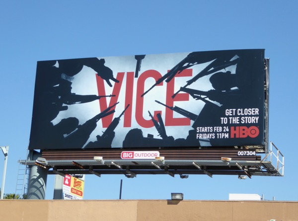 Vice season 5 HBO billboard