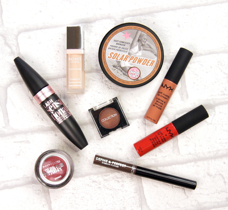 uk high street drugstore autumn makeup haul