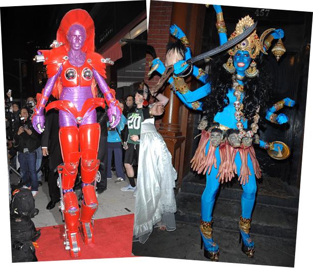 Heidi Klum Halloween Shiva.Heidi Klum Costume God Daily Motivational Quotes