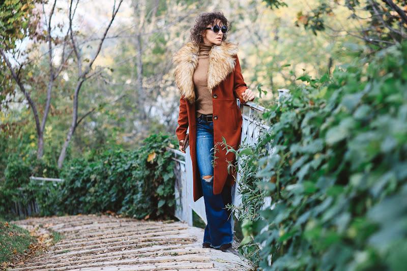 кашемировое пальто Asos