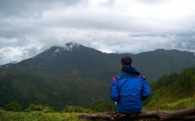 Climbing Mt. Ugo