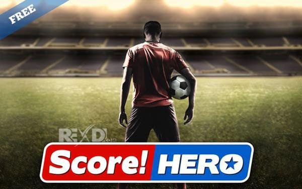 تحميل لعبة سكر هيرو مهكرة Score! Hero