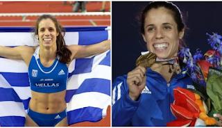 Η «χρυσή» Κατερίνα Στεφανίδη υποψήφια για τον τίτλο της αθλήτριας της χρονιάς