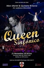 """QUEEN SINFONICO"" 21 NOV"