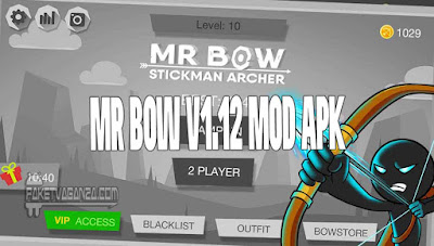 Mr Bow V1.12 Mod Apk For Unlimited Money & No ADS