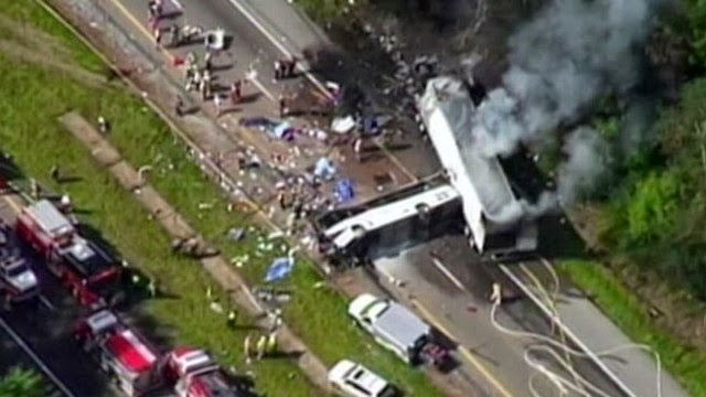 8 Killed In I 40 Bus Crash In East Tennessee Today World