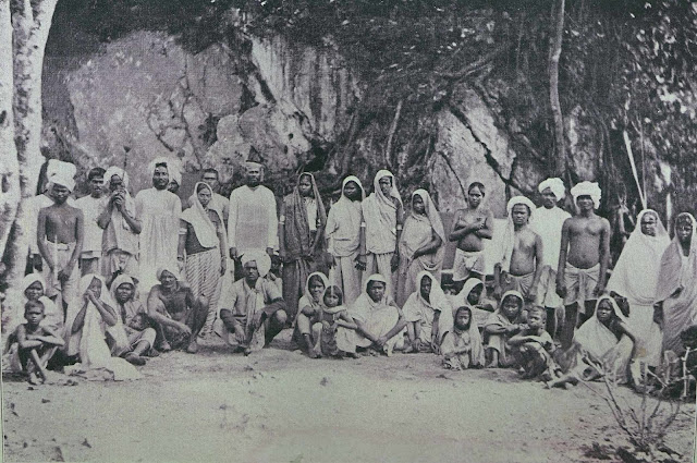 East Indian indentured laborers in British Guyana