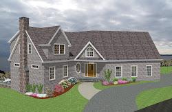 casa americana modelo dos casas americanas vivienda fachada planos pisos tradicional plantas niveles viviendas gratis piso sketchup rp pies medidas