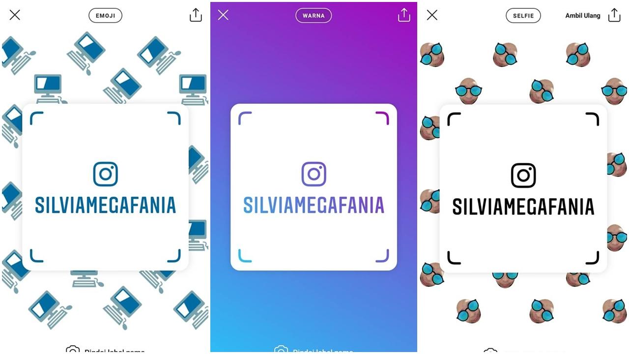 Cara Follow Akun Instagram Orang Lain Dengan Label Nama ...