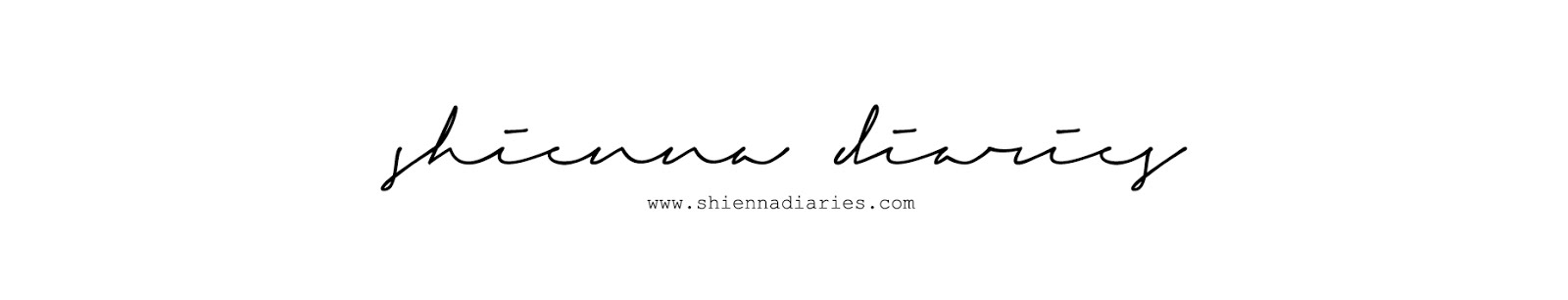 Shienna Diaries | Blog