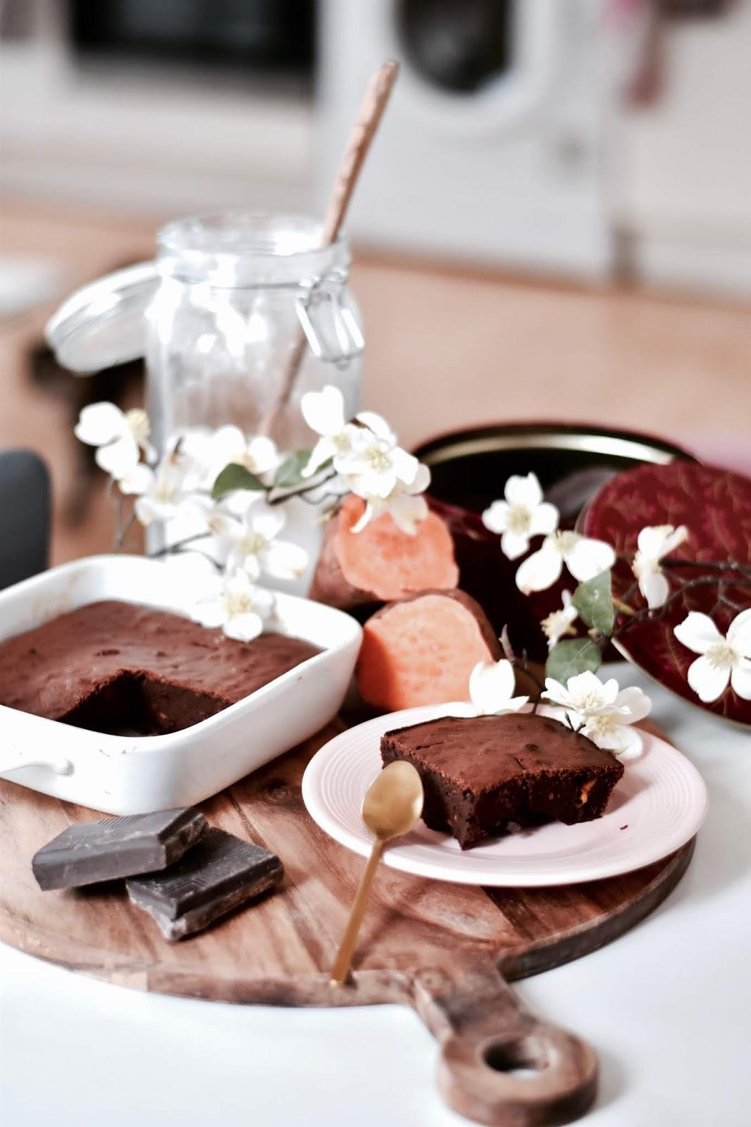 recette facile : gâteau au chocolat et à la patate douce