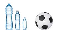 flessen voetbal