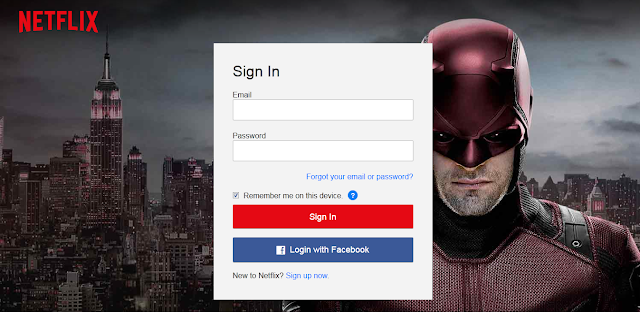 how to get password for netflix