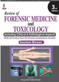 Review of Forensic Medicine and Toxicology (Including Clinical _ Pathological Aspects) - 3E (2015)[PDF]