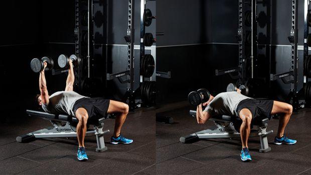 BEST EXERCISES YOU'RE NOT DOING - Crush-Grip Dumbbell Bench Press