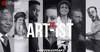 the artist,the art-ist,cliffsonspeaks,the artist and the painter,the artist and god,god is an artist,mystic,ghanaian poetry,ghanaian poet, poet cliffson adu,