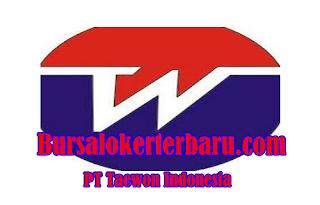 Lowongan Kerja Terbaru di PT Taewon Indonesia - Operator Produksi