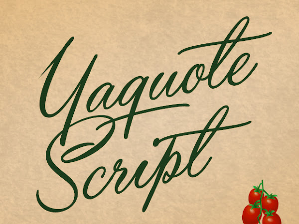 Yaquote Script Font Free Download