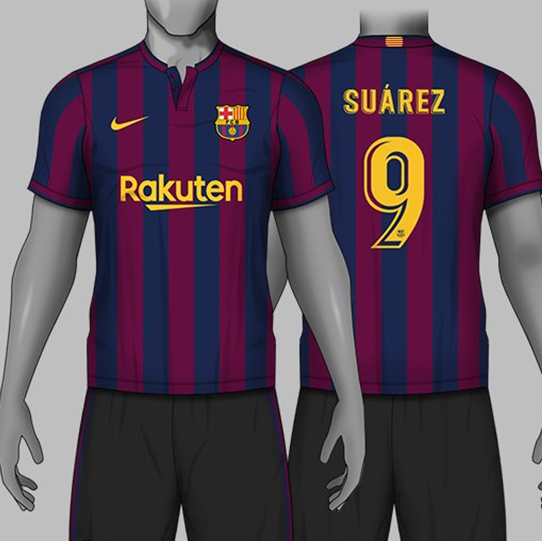 official photos b927d c6ca5 3 Amazing Nike FC Barcelona Home Kit Concepts By Carrino ...