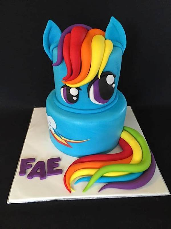 Equestria daily mlp stuff another professional rainbow for Rainbow dash cake template