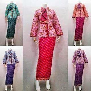 Contoh Model Baju Batik Pramugari