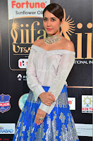 Raashi Khanna in Off Shoulder Top and Blue Skirt Cuteness Overloaded at IIFA Utsavam Awards 2017  HD Exclusive Pics 02.JPG