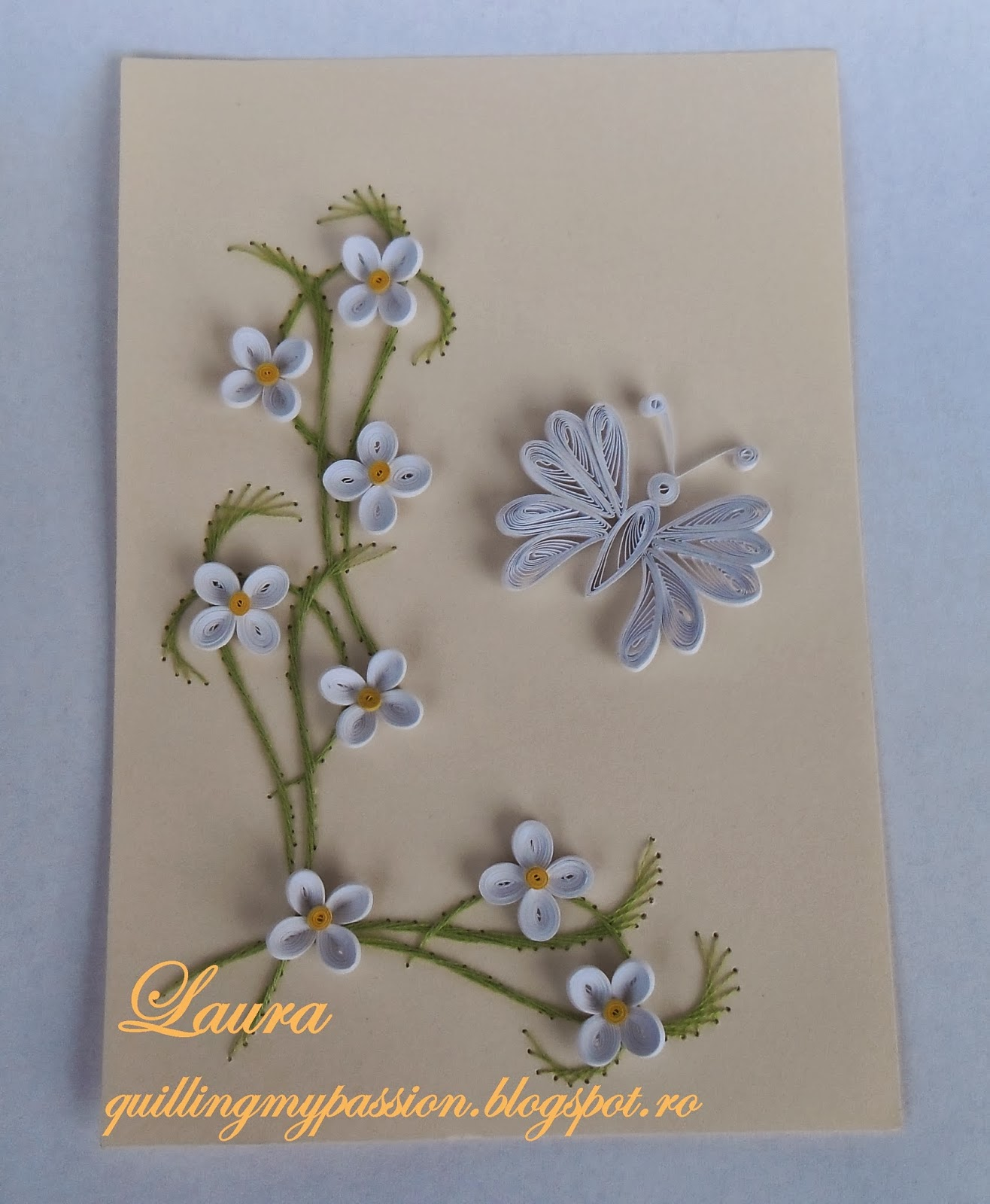 quilling my passion spring cards