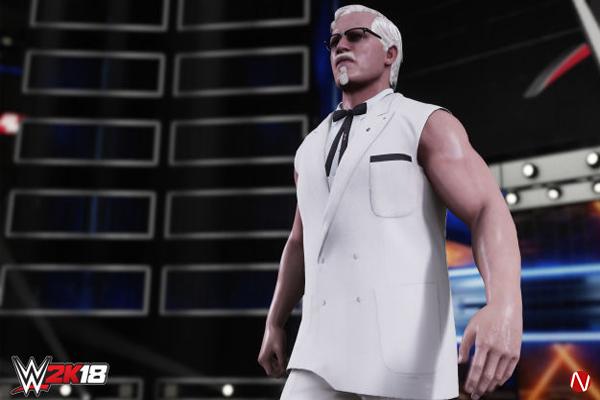Colonel Sanders WWE 2K18