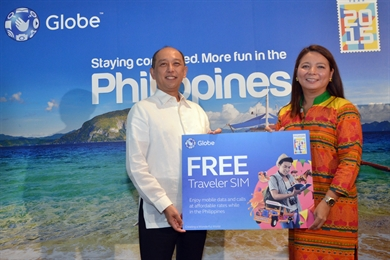 Globe Telecom boosts Visit the Philippines Year 2015 campaign