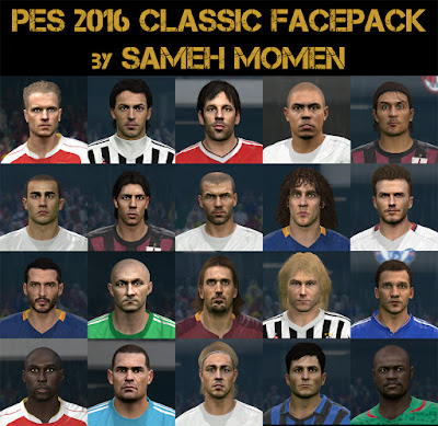PES 2016 Classic facepack by Sameh Momen