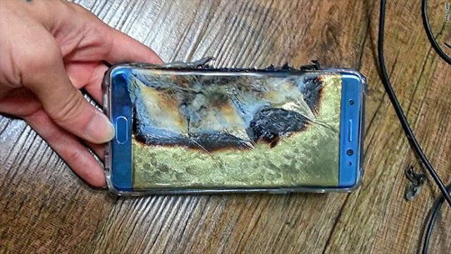 Samsung abandona la venta y fabricación del Galaxy Note 7