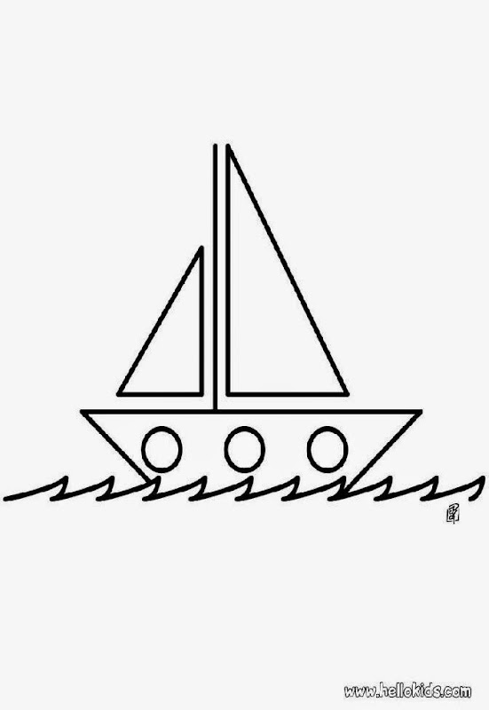 Free Printable Boat Coloring Pages For Kids | Coloring pages for ... | 800x551