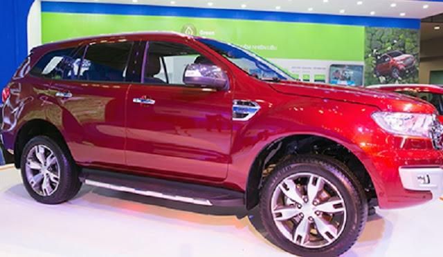 Ford Everest 2017 có biến thể mới RWD giá từ 56 nghìn đô