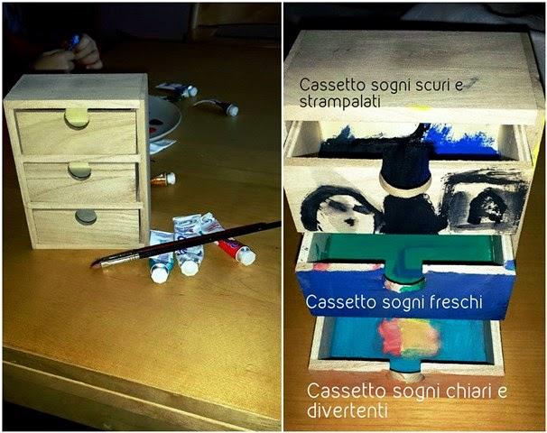 cassettiera giocattolo per bambini