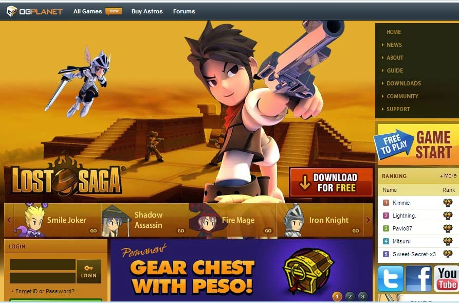 Download Cheat Lost Saga