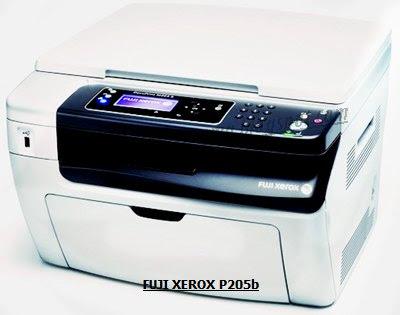 install fuji xerox docuprint p205b on mac