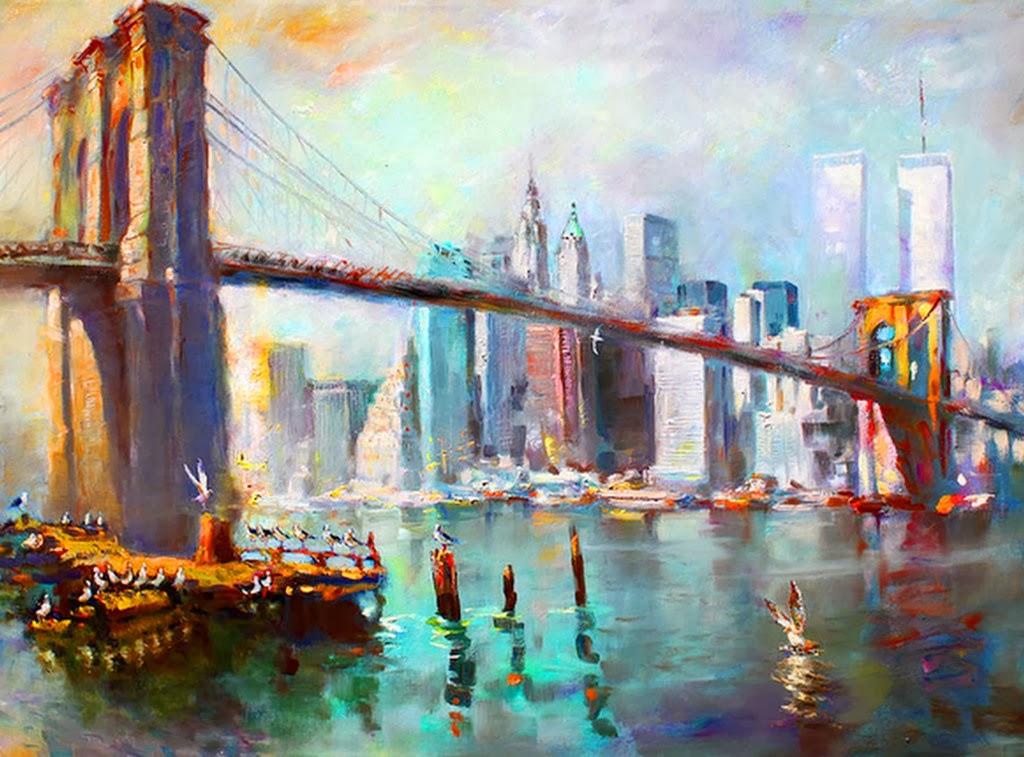 Imagenes Arte Pinturas Paisajes Modernos Pintados Al Oleo Obras De