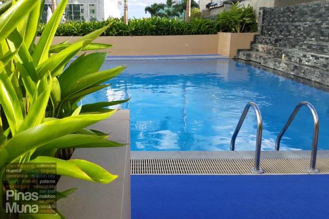 Novotel Manila Araneta Center outdoor pool