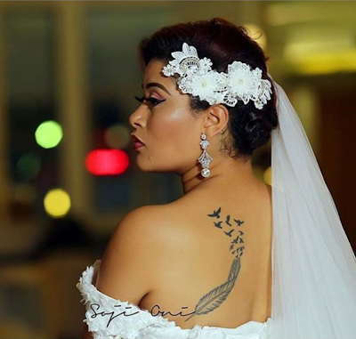 Adunni (Actress) Shows Off In Her New Bridal Shoot